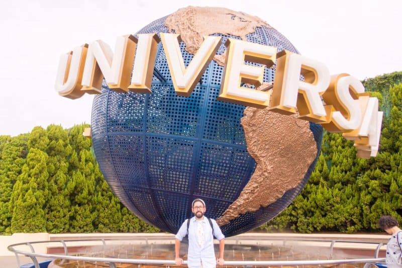 TDR Explorer Globe Universal Studios Japan