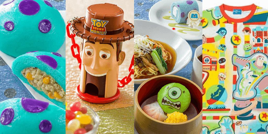 Tokyo DisneySea Pixar Playtime 2018 Merchandise & Food