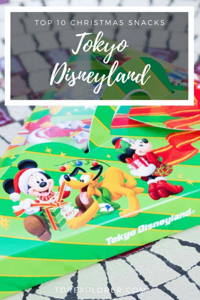 Top 10 Christmas Snacks Tokyo Disney Resort Pinterest