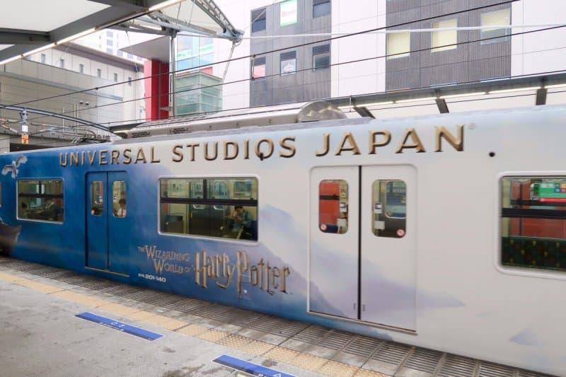 Universal Studios Japan Train Station