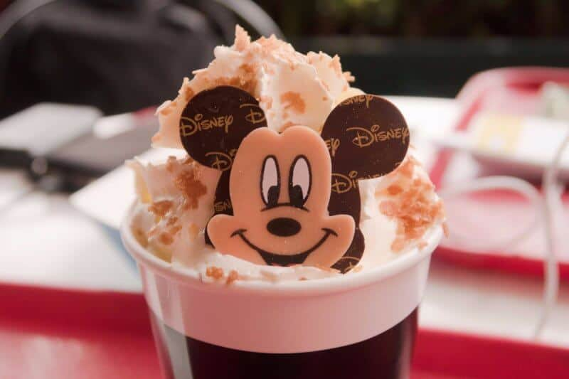 Banana Milk Hot Chocolate Shanghai Disneyland