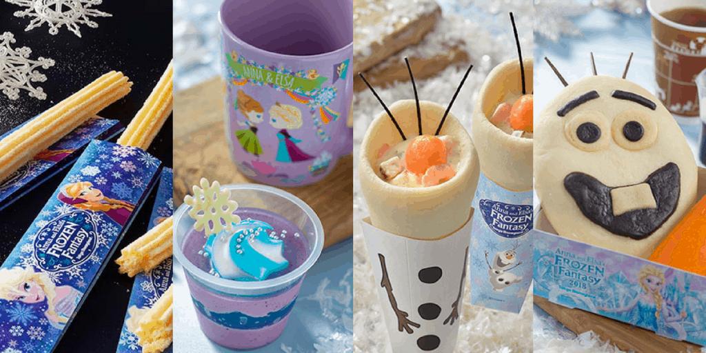Tokyo Disneyland Frozen Fantasy 2018 Merchandise & Food