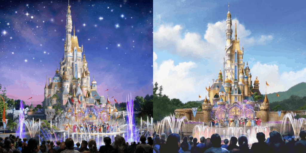 Why I Like Hong Kong Disneyland's New Castle Design