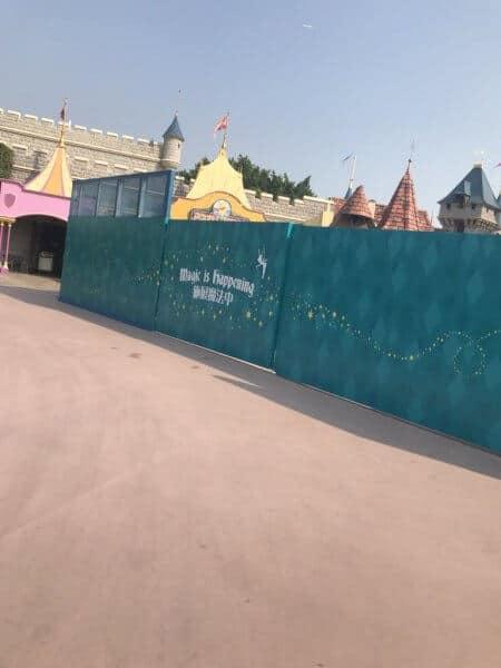 Hong Kong Disneyland Sleeping Beauty Castle Transformation Walls 5