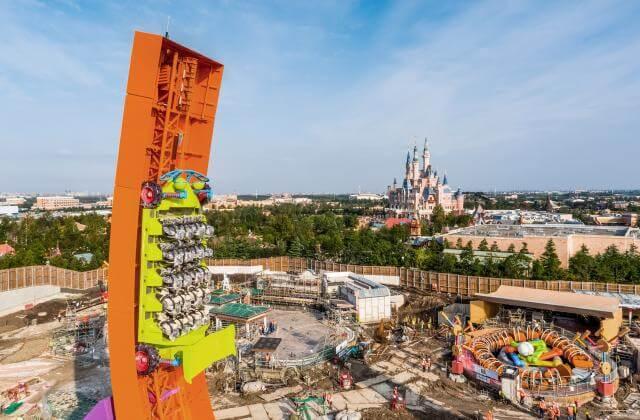 Rex's Racer Test Disney Toy Story Land Shanghai Disneyland