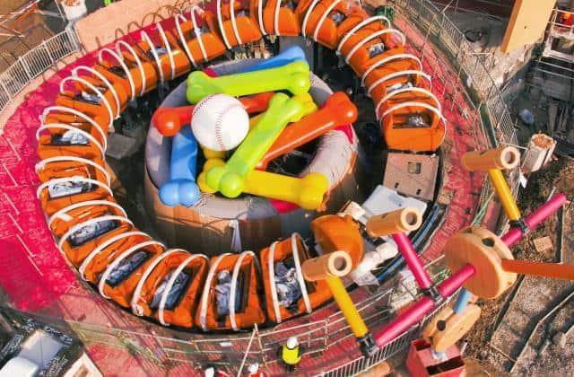 Slinky Dog Spin Disney Toy Story Land Shanghai Disneyland
