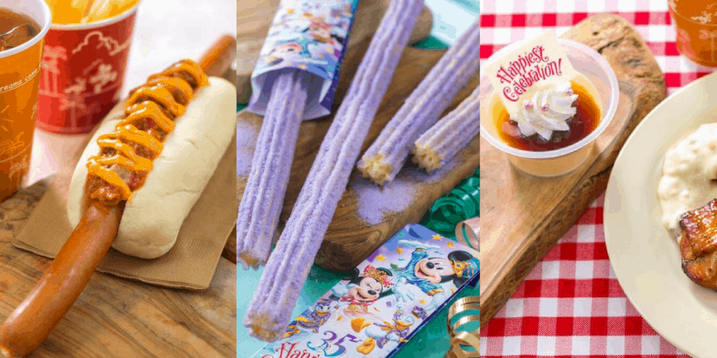 Sneak Peek at the Food for the Tokyo Disney Resort 35th Anniversary