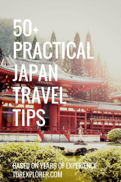 50 Practical Tips Japan Travel TDR Explorer Pinterest