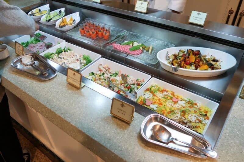 Crystal Palace Buffet Spread Tokyo Disneyland