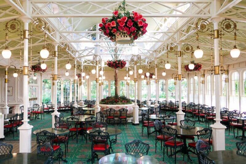 Crystal Palace Decor Tokyo Disneyland
