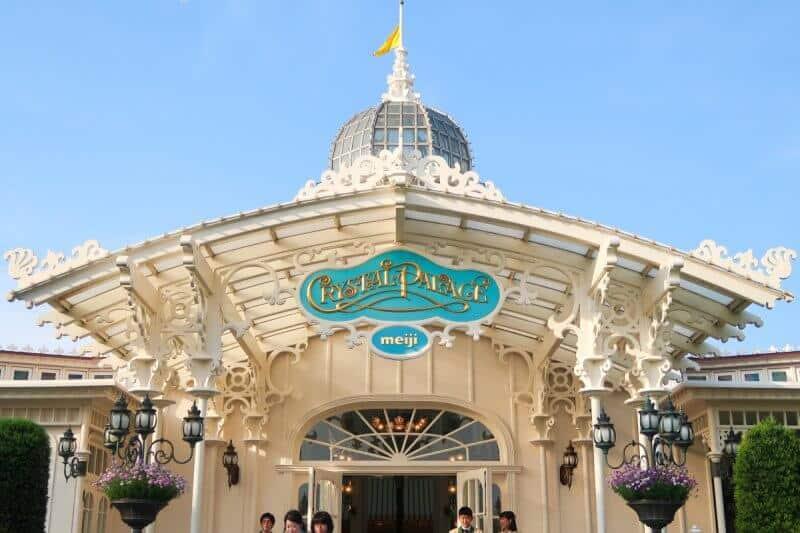 Crystal Palace Restaurant Tokyo Disneyland