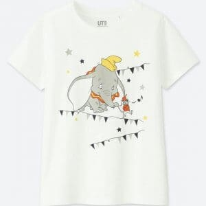 Mickey Pocket T-shirt Uniqlo Women