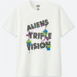 Green Aliens Uniqlo T-shirt