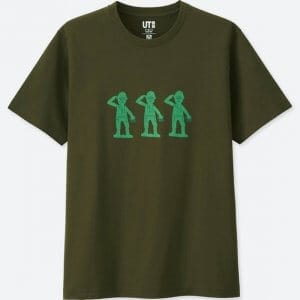 Green Army Men Uniqlo T-shirt