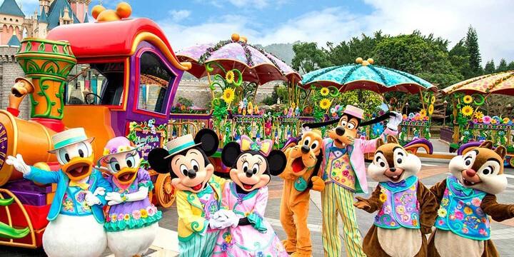 "Hong Kong Disneyland ""We Love Mickey!"" and Springtime Carnival 2018 Details"