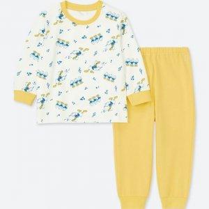 Huey Duey Luey Uniqlo Pajamas Baby