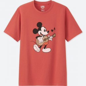 Mickey Guitar Uniqlo T-shirt Men