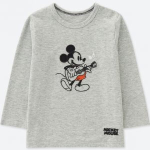 Mickey Guitar Uniqlo Tshirt Baby