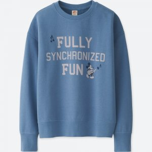 Mickey Sweatshirt Uniqlo Women