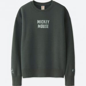 Mickey Mouse Sweatshirt Uniqlo Women