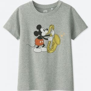 Mickey Sax T-shirt Uniqlo Women