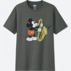 Mickey Sax Uniqlo T-shirt Men