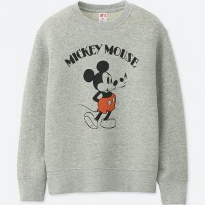 Mickey Uniqlo Sweatshirt Kids