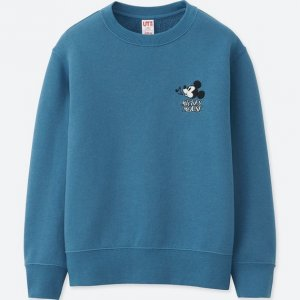 Mickey Whistle Uniqlo Sweatshirt Kids