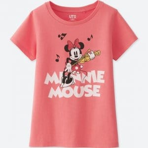 Minnie Fiddle Uniqlo T-shirt Kids