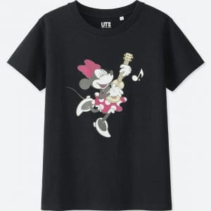 Minnie Guitar T-shirt Uniqlo Women