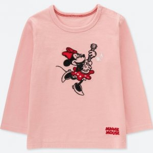 Minnie Guitar Uniqlo Tshirt Baby