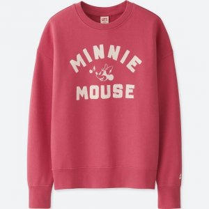 Minnie Mouse Sweatshirt Uniqlo Women