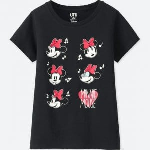 Minnie Navy Uniqlo T-shirt Kids
