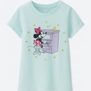 Minnie Piano Uniqlo T-shirt Kids