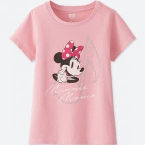Minnie Pink Uniqlo T-shirt Kids