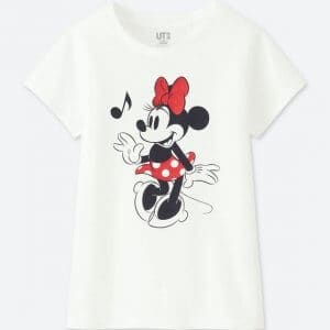 Minnie Uniqlo T-shirt Kids