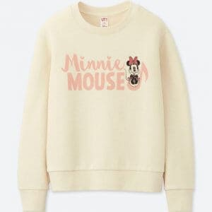 Minnie Whistle Uniqlo Sweatshirt Kids
