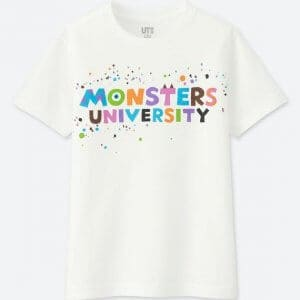 Monsters University Uniqlo T-shirt Kids