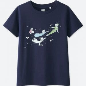 Peter Pan T-shirt Uniqlo Women