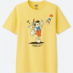 Pinocchio Uniqlo T-shirt Men