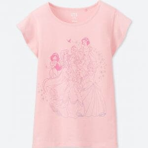 Princesses Pink Uniqlo T-shirt Kids