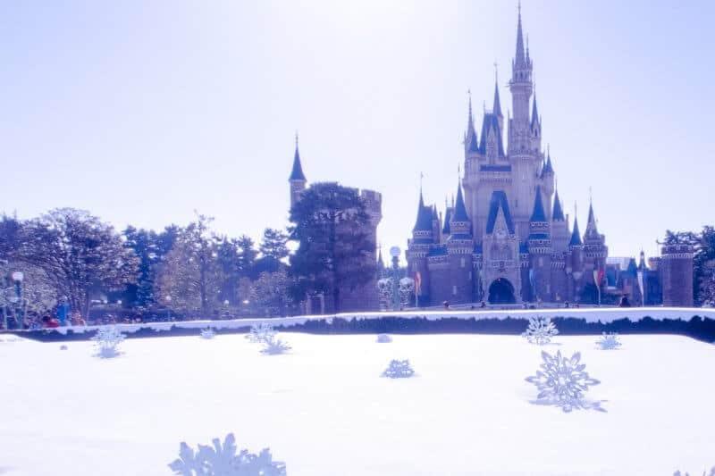 Tokyo Disneyland Snow