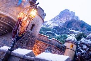 Tokyo DisneySea Mt. Prometheus Snow