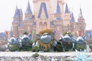 Trolls Tokyo Disneyland Snow Frozen Fantasy