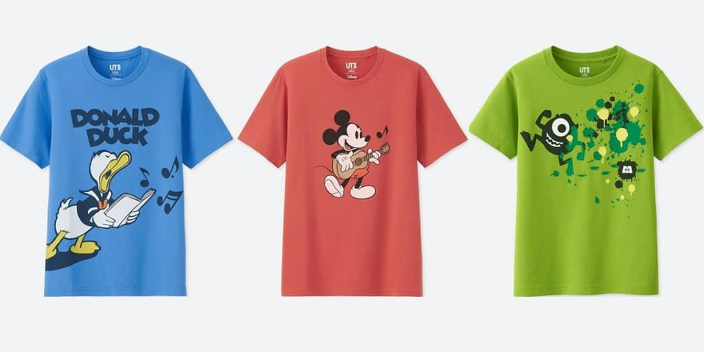 Uniqlo launches disney and pixar collections tdr explorer uniqlo launched new disney and pixar collections stopboris Images