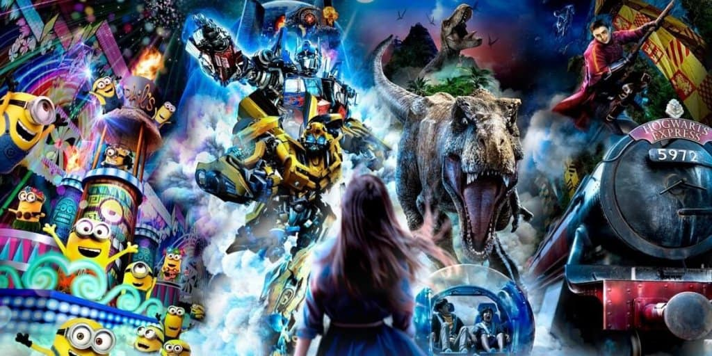 Universal Studios Japan Announces New Entertainment and Ride Upgrades for Spring 2018