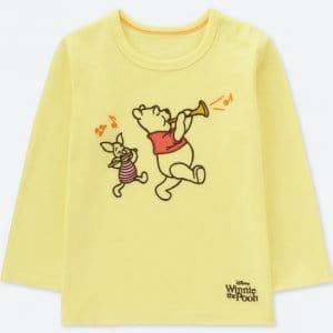 Winnie the Pooh Uniqlo Tshirt Baby