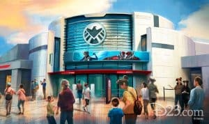 Ant-Man Attraction Hong Kong Disneyland Concept Outside