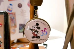 Camera Strap Case 35th Anniversary Tokyo Disney Resort
