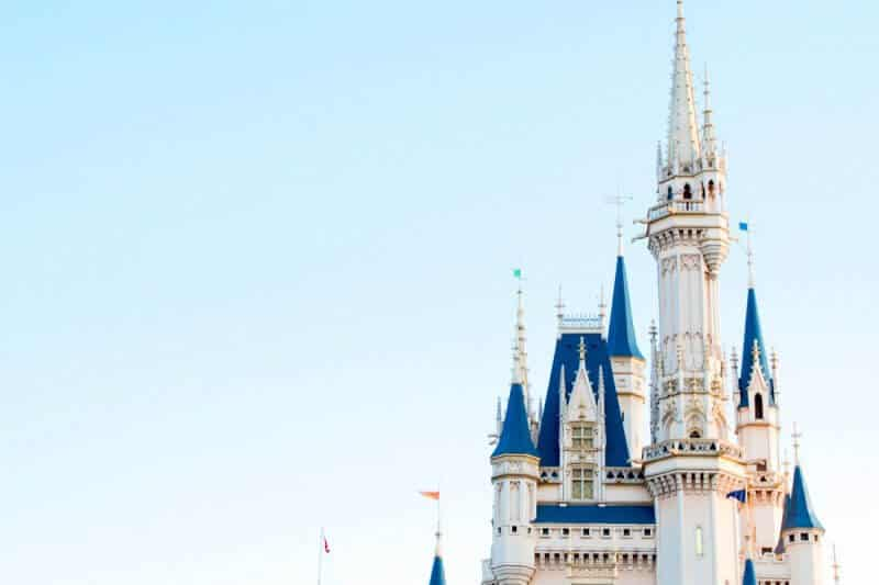 Cinderella Castle Tokyo Disneyland Background
